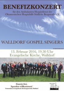 Plakat Benefizkonzert 13.2.2016