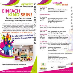 Flyer Einfach Kind Sein! 2.-10.Nov.2019