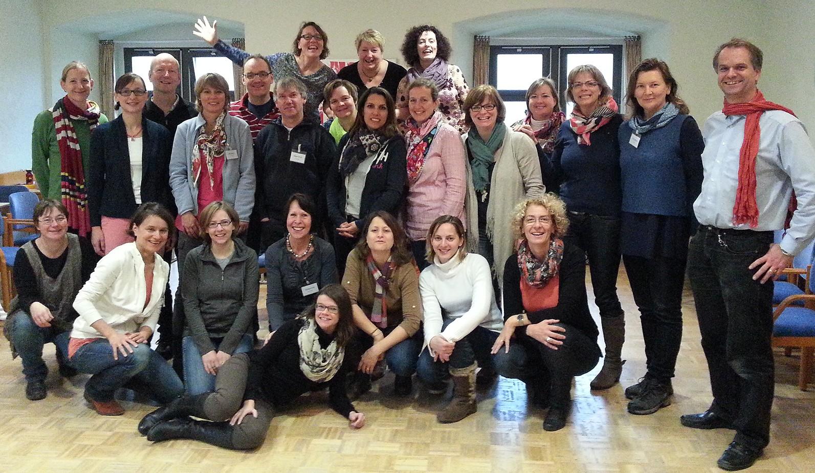 Teilnehmer des Chorwochenendes 15-17. November 2013